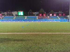 Football pitch at Jalan Besar Stadium